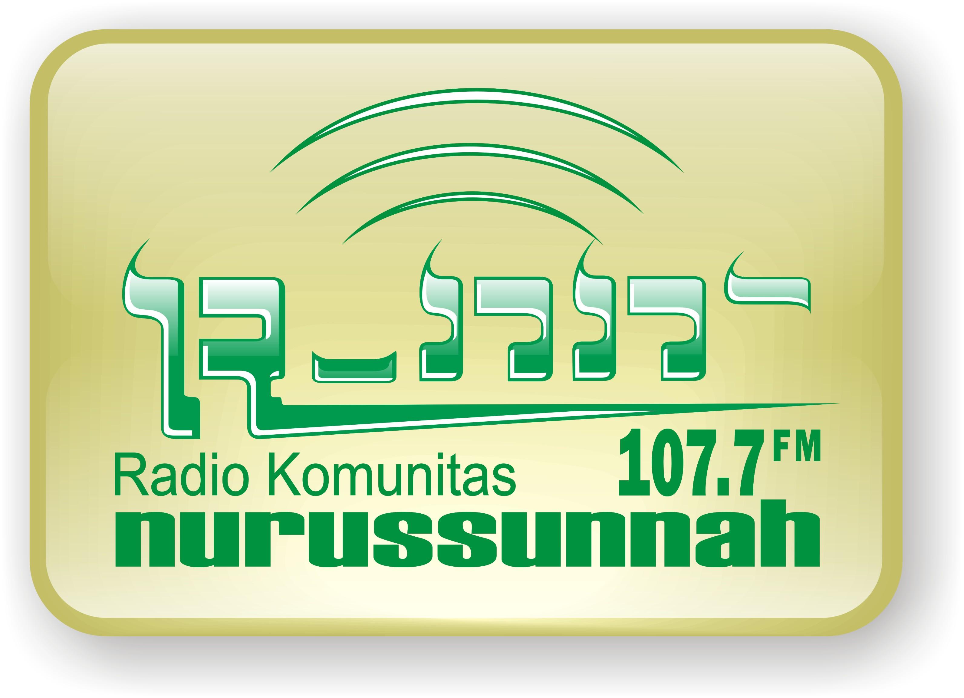 Logo Radio Nurussunnah 107.7 fm