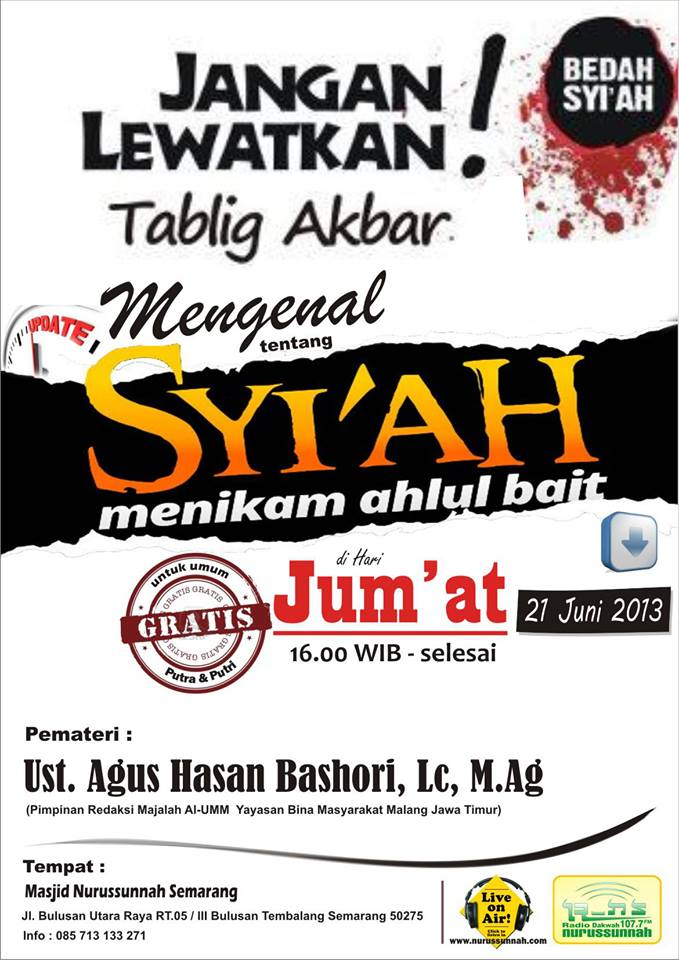 "Download MP3 ""Syiah menikam Ahlul Bait"""