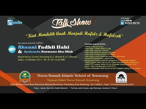 Talk Show Ananda Ahsani